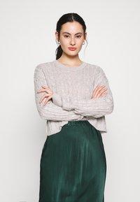 New Look - BASIC - Jersey de punto - light grey - 3