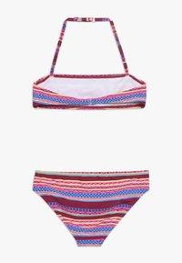 Buffalo - BANDEAU SET - Bikini - bordeaux - 1