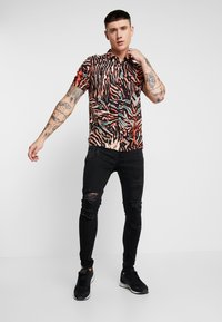 Brave Soul - LEYL AND CHARC - Jeans Skinny Fit - charcoal - 1
