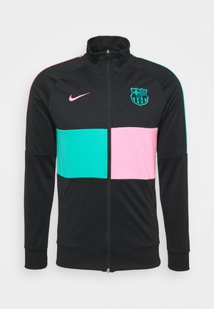 FC BARCELONA - Club wear - black/pink beam/new green/pink beam
