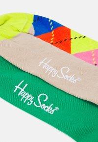 Happy Socks - FILLED OPTIC SOCK ARGYLE SOCK UNISEX 2 PACK - Socks - multi-coloured - 2