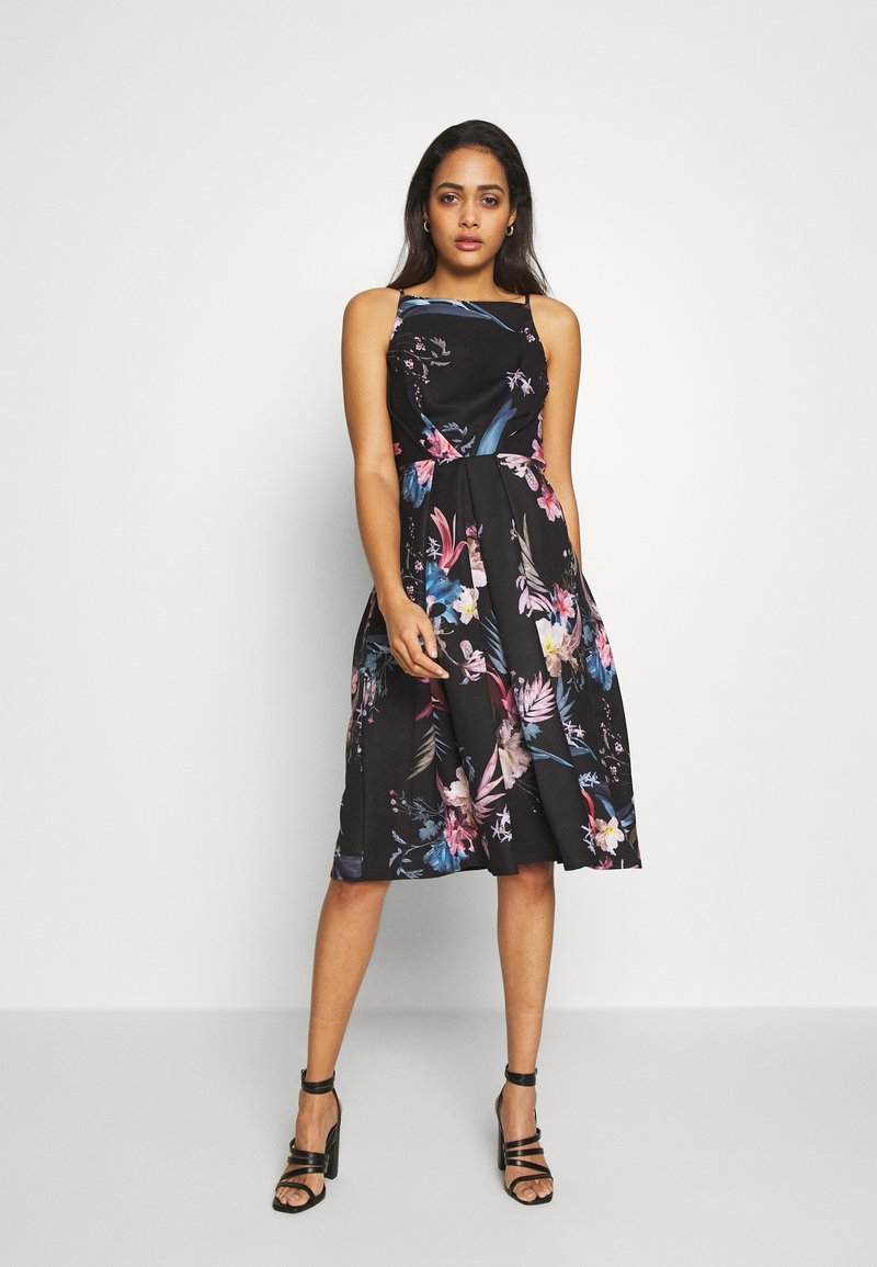 Little Mistress - MIDI PRINTED  - Cocktail dress / Party dress - multicolor