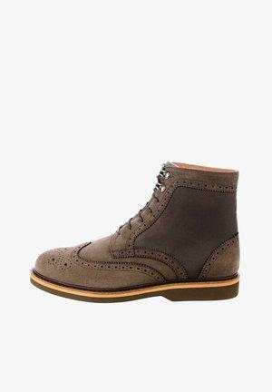 PELLARO - Kovbojské/motorkářské boty - brown