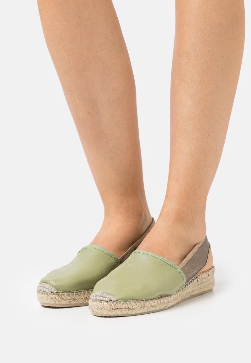 Gaimo - Platform sandals - pharos salvia/plata vieja
