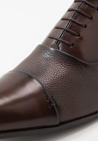 Brett & Sons - Smart lace-ups - natur tabaco - 5