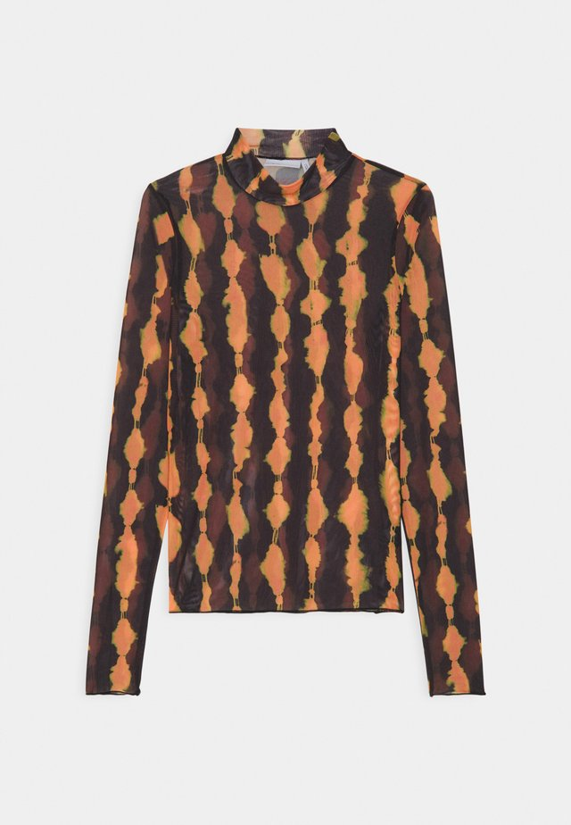 FIONA TURTLENECK PRINT - Maglietta a manica lunga - multi-coloured