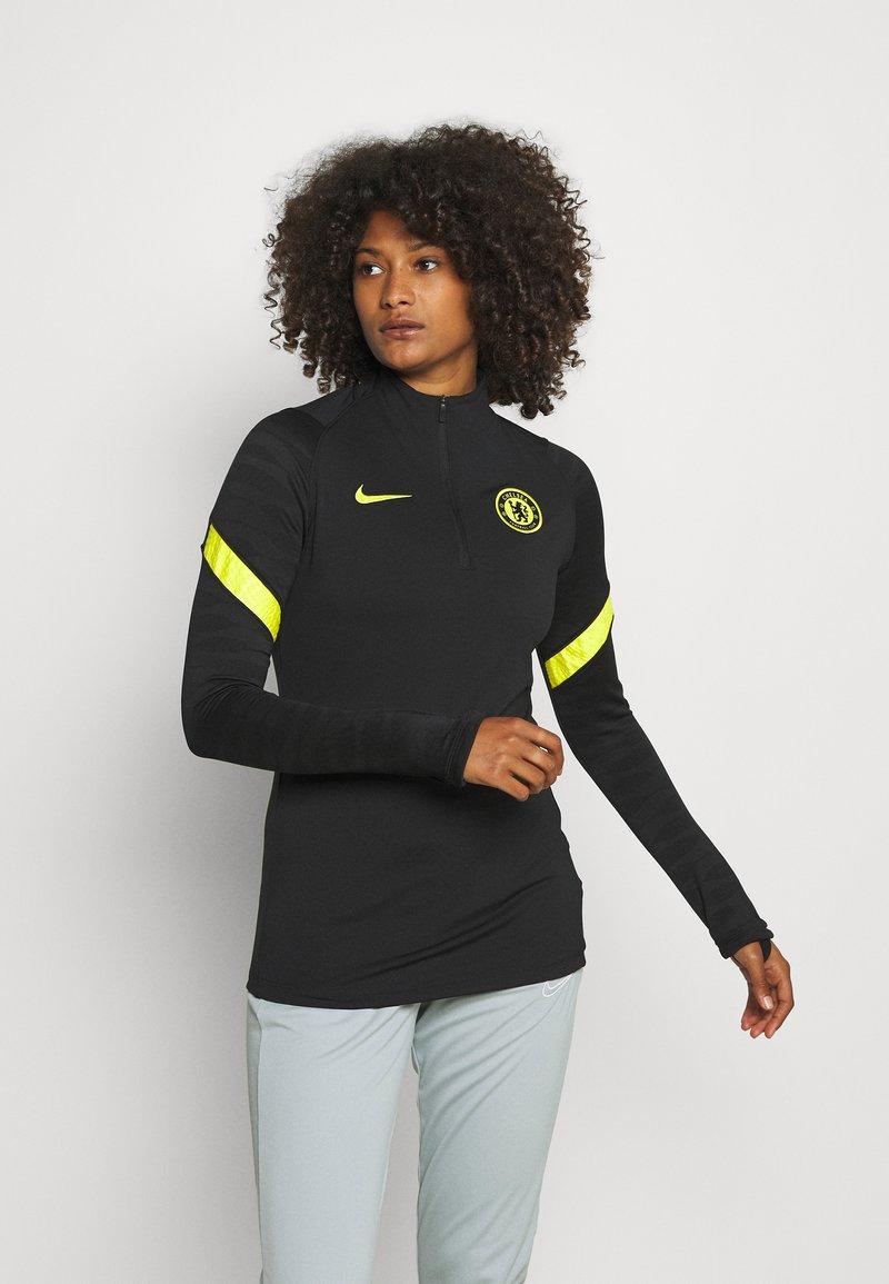 Nike Performance - CHELSEA LONDON  - Club wear - black/opti yellow