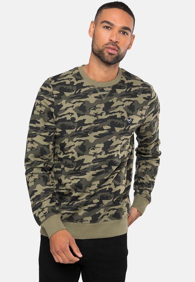 STANLEY - Sweater - khaki camo