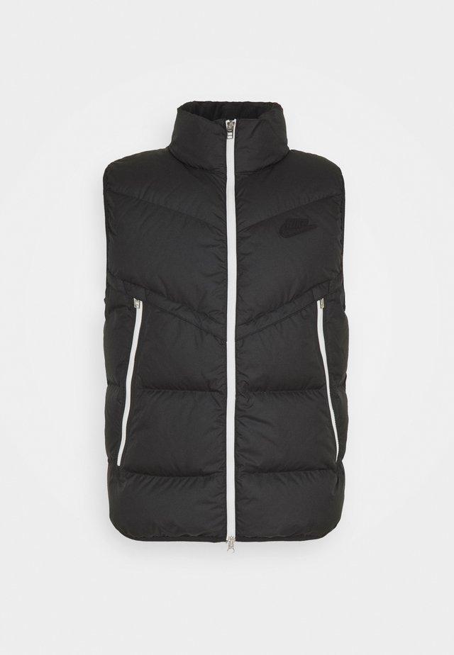 VEST - Waistcoat - black/sail