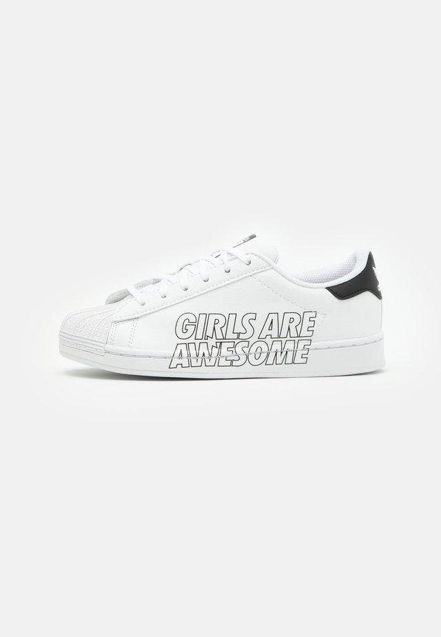 SUPERSTAR UNISEX - Sneakers basse - footwear white/core black