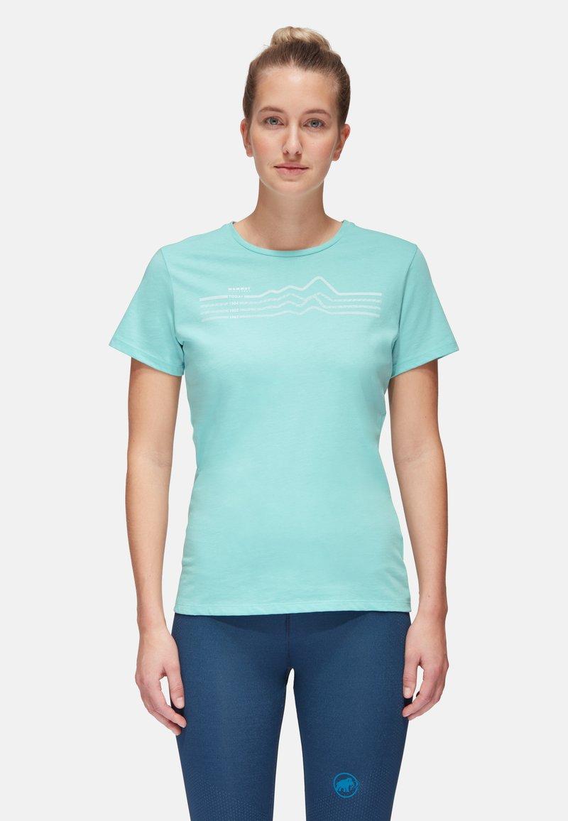 Mammut - SEILE - T-shirt con stampa - dark frosty prt3
