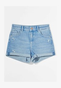Bershka - Denim shorts - blue - 4