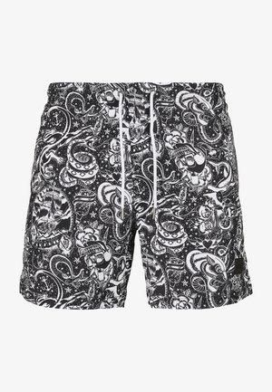 Swimming shorts - tattoo aop