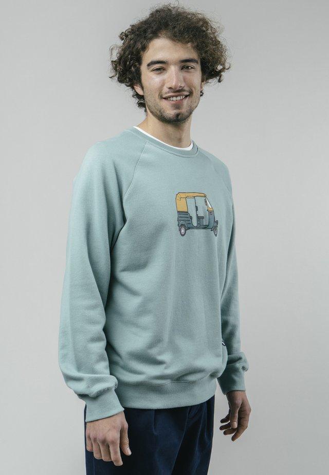 TUK TUK RACE  - Sweatshirt - green