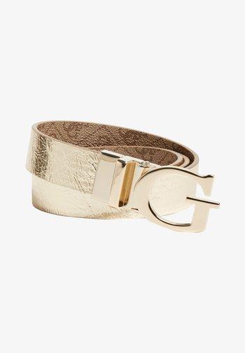 MIKA MIKA PANT BELT - Belt - gold multi