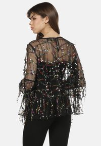 myMo at night - Blouse - schwarz multicolor - 3