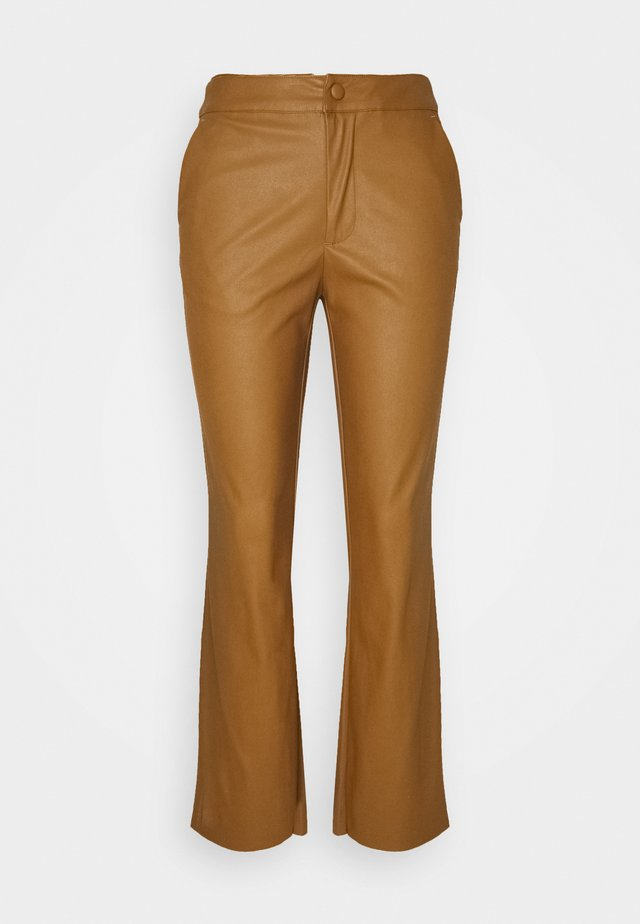 GAMAL PANTS - Trousers - brown oak
