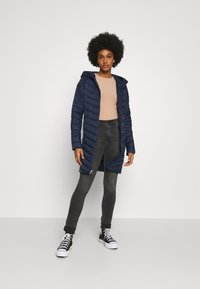 Hollister Co. - Winter coat - navy - 0
