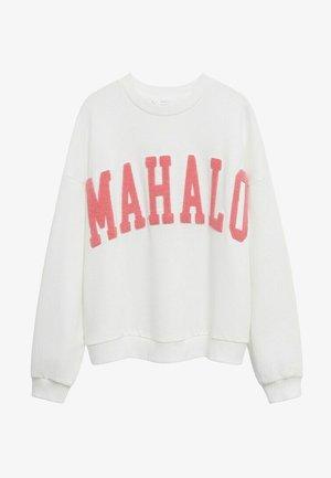 HAWAI - Sweatshirt - blanc cassé