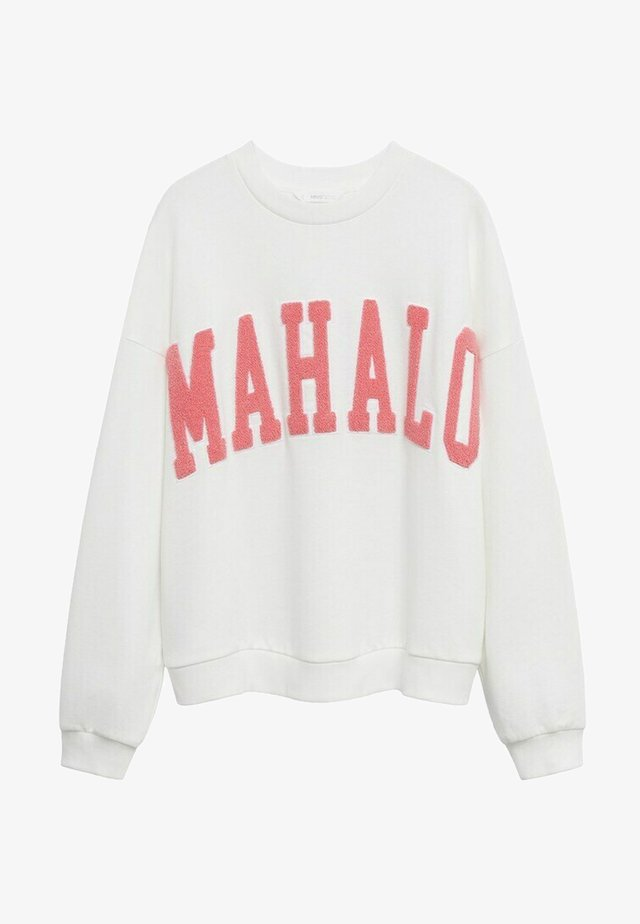 HAWAI - Sweater - blanc cassé