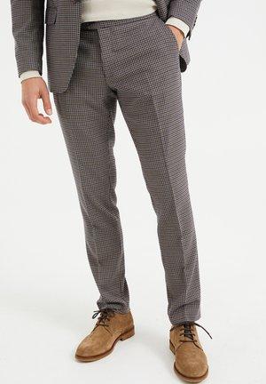 Oblekové kalhoty - all-over print