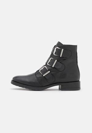 CELUTA - Kovbojské/motorkářské boty - noir