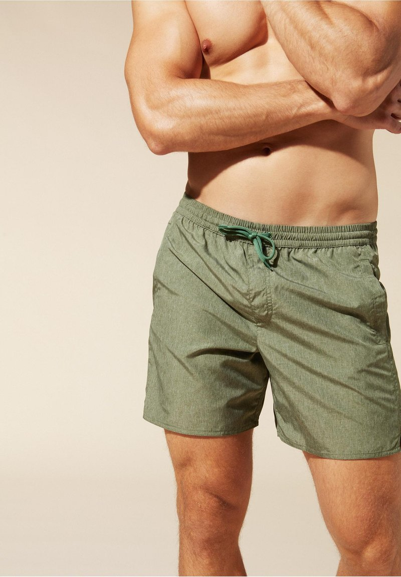 Calzedonia - Swimming shorts - grün - 246c - palm green melange