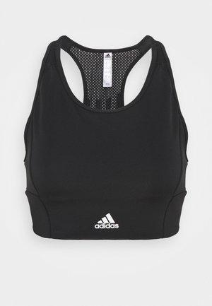 Sport-BH med lätt stöd - black/white