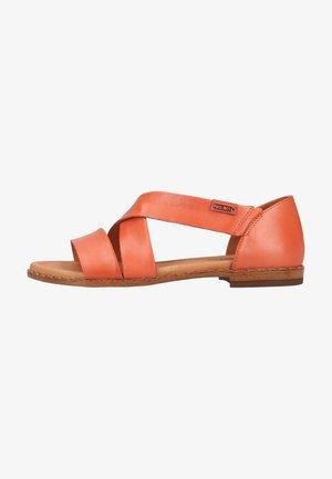 Sandals - scarlet
