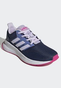adidas Performance - RUNFALCON SHOES - Neutral running shoes - blue - 2