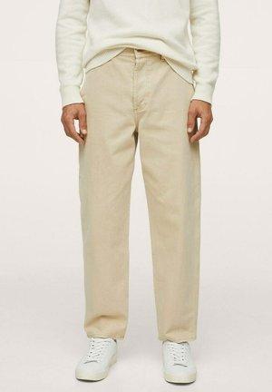 WORKER  - Straight leg jeans - beige