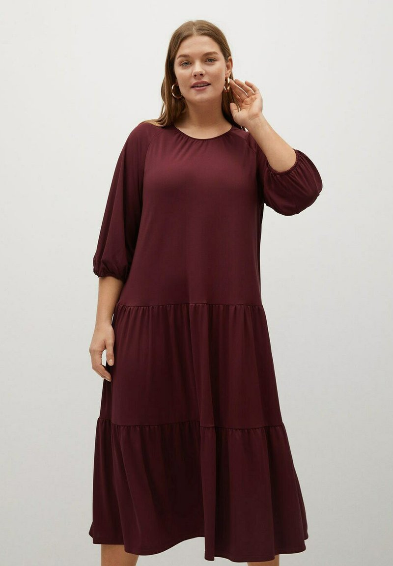 Violeta by Mango - Day dress - granatrot
