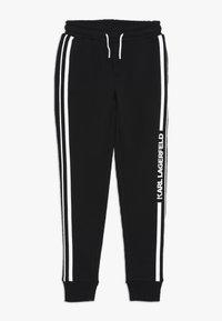 KARL LAGERFELD - Pantalones deportivos - schwarz - 0