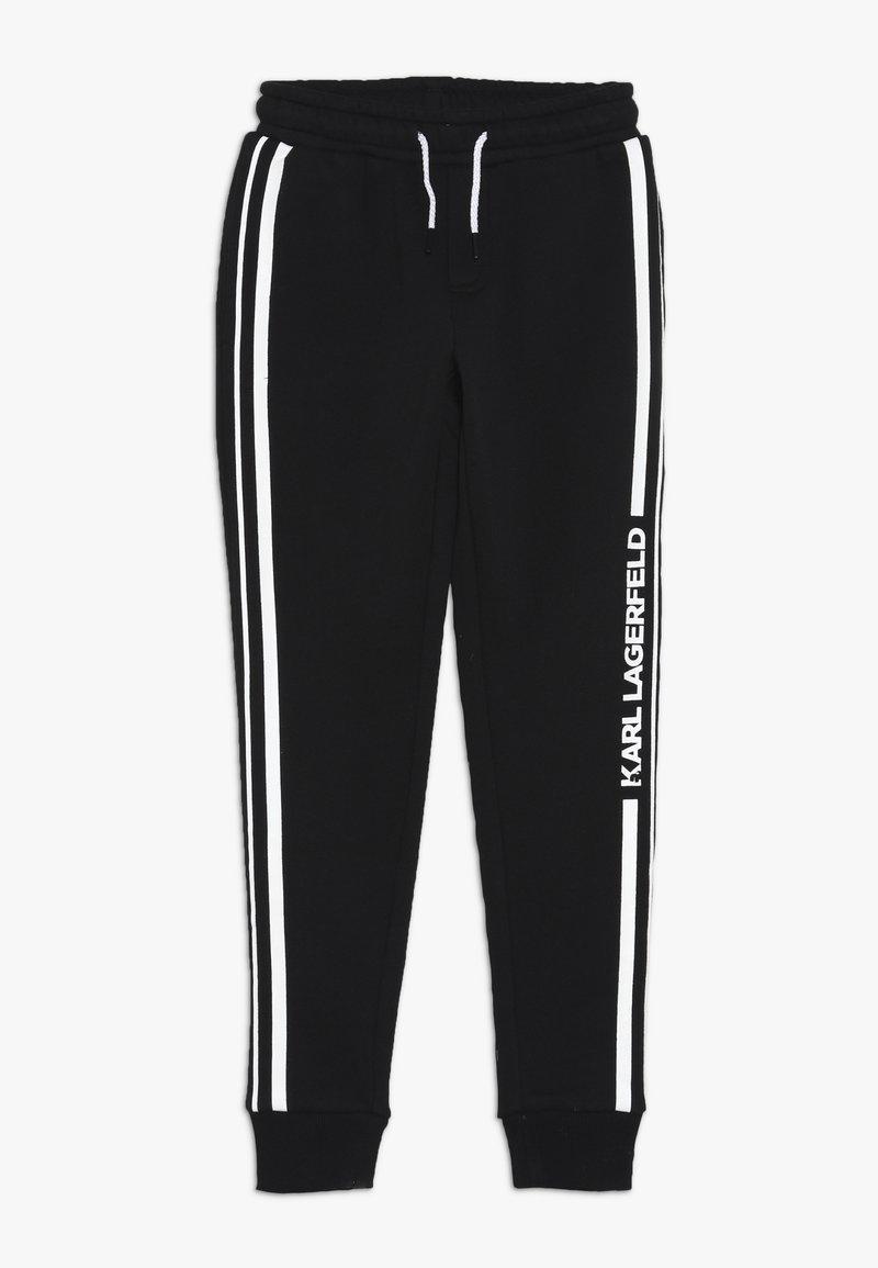 KARL LAGERFELD - Pantalones deportivos - schwarz