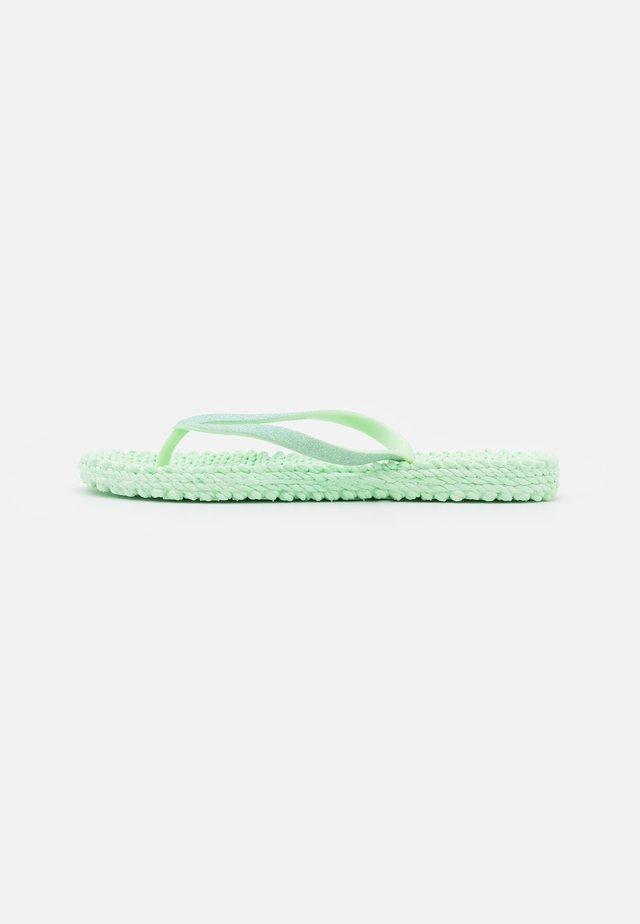CHEERFUL - Pool shoes - dusty aqua