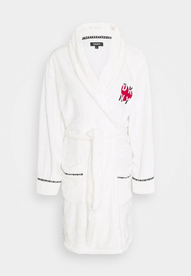 SIGNATURE SLEEP ROBE - Dressing gown - winter white