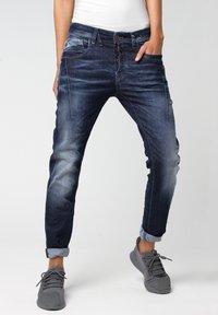 Gang - RELAXED FIT NEW GEORGINA - Slim fit jeans - vivid dark vintage - 2