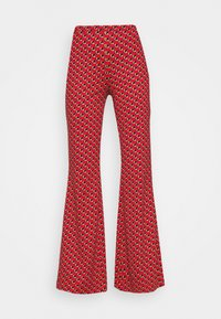 Diane von Furstenberg - BROOKLYN PANTS - Trousers - signature red - 4