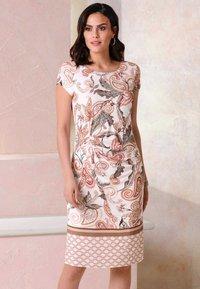 Alba Moda - Jersey dress - rosé,braun - 3