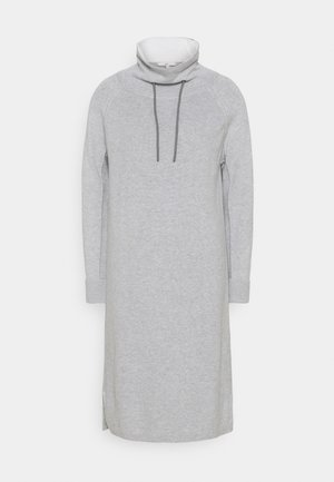 Strikket kjole - light grey