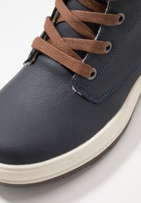 Friboo - Lace-up ankle boots - dark blue - 2