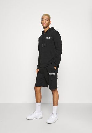 SET - Sweater - jet black/optic white