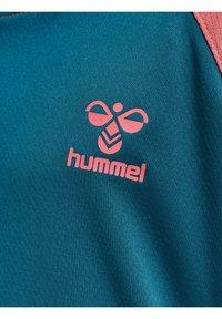 Hummel - ACTION  - Sports shirt - blue coral/tea rose - 3