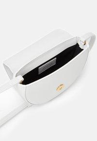 Versace - BAG - Across body bag - white/gold - 2