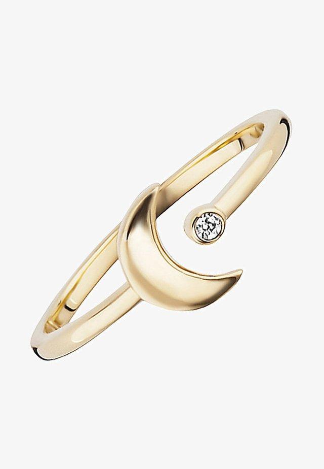 CAÏ LOVE MOON & STARS  - Ring - gold-coloured