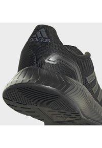 adidas Performance - RUNFALCON 2.0 UNISEX - Neutral running shoes - cblack/cblack/gresix - 8