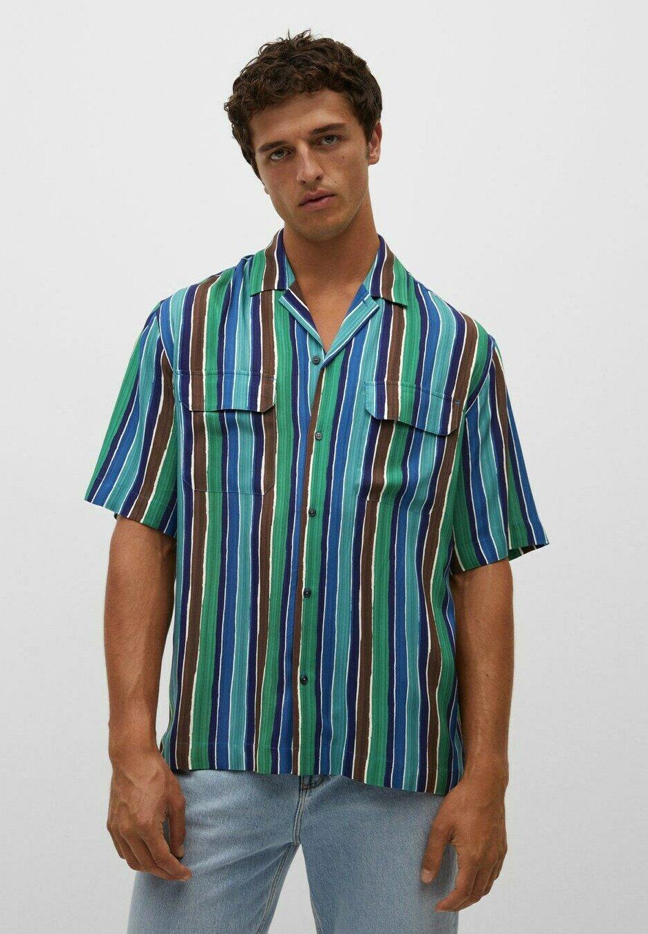 Uomo FLUIDE BOWLING - Camicia