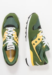 Saucony - AZURA - Sneaker low - green/yellow - 1