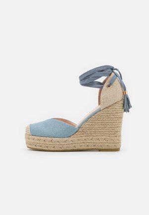 DORIAN - Sandaler med høye hæler - blue