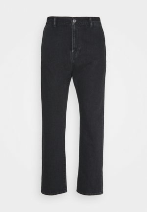 UNIVERSE PANT CROPPED - Jean droit - mid stone kingston black